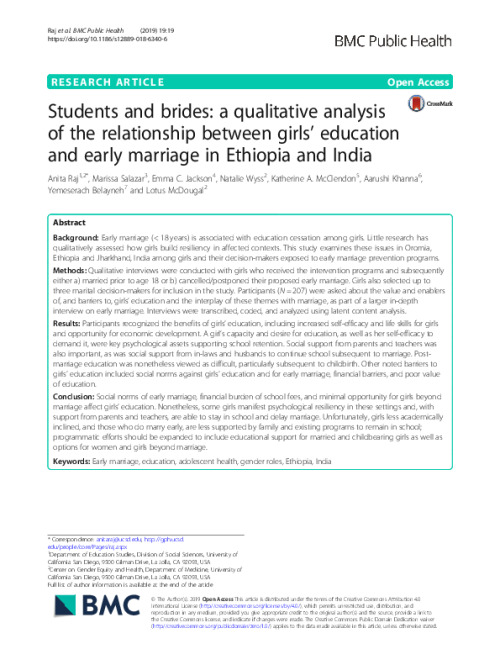 Students and Brides