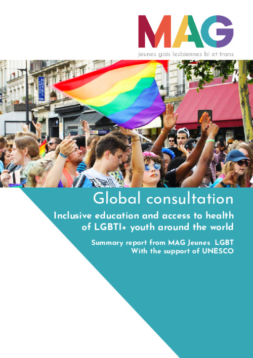 Summary report of the Global consultation on inclusive education and access to health of LGBTI+ youth around the world, Paris