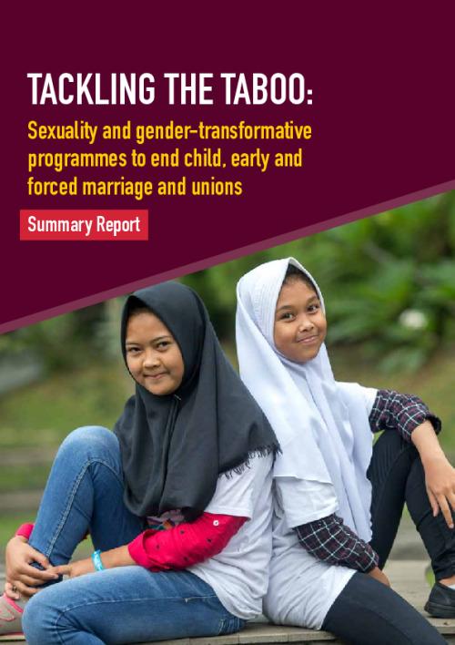 Tackling the Taboo (summary)