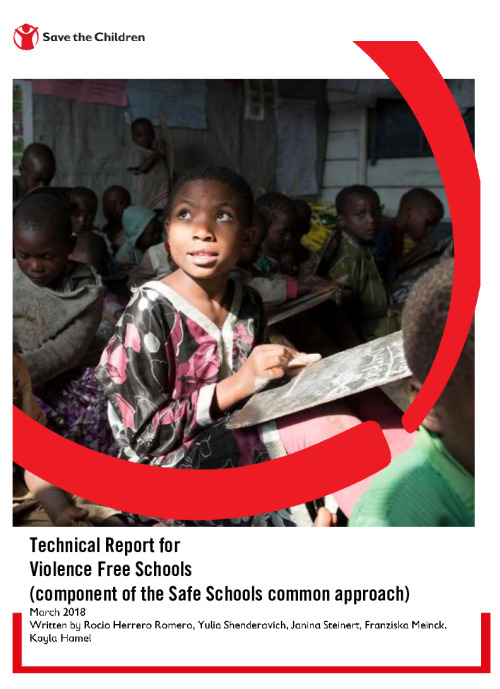 Technical Report for  Violence Free Schools
