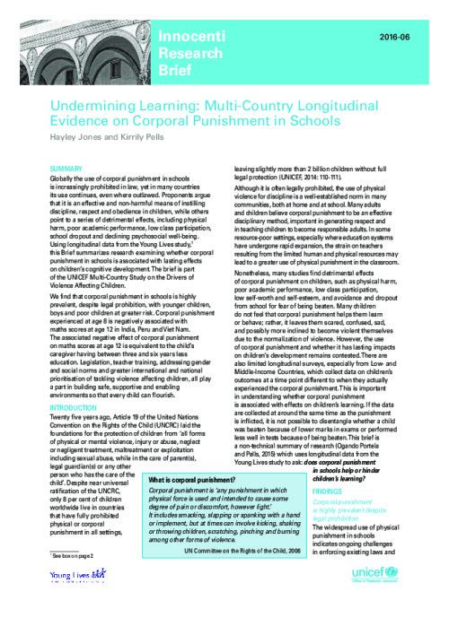 Undermining Learning
