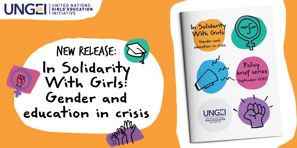In Solidarity With Girls policy brief series UNGEI Jeyda-Bicer