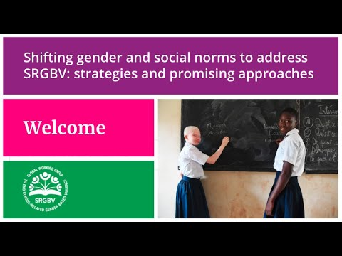 Shifting gender and social norms to address SRGBV: strategies and promising approaches